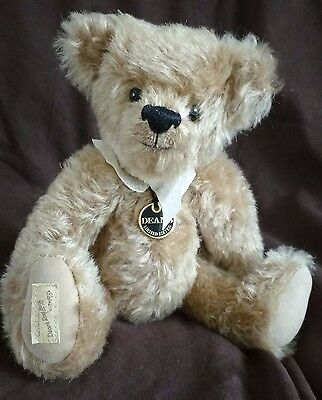 Deans Mohair Teddy Bear - Fuzzy  L/e 1,500 - New With Tags