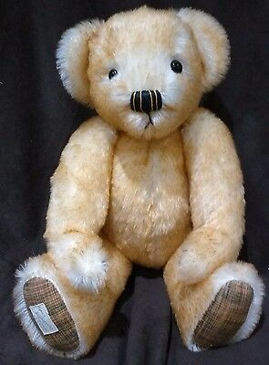 Deans Elite Range Madame Butterfly Mohair Teddy Bear - L/e 77 Of 100 New