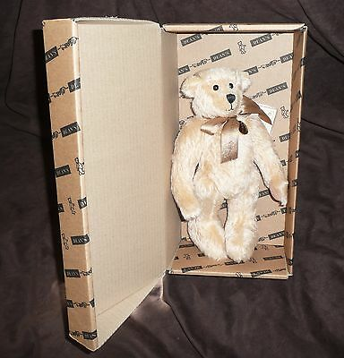 Dean's Mohair Teddy Bear - Ninety Niner - 2002 - L/e 999 - New In Box With Tags