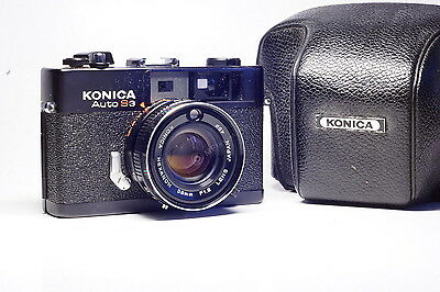 Konica Auto S3 38mm f1.8 compact rangefinder camera best in category super sharp