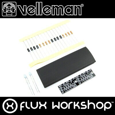 Velleman Multi Voltage Pilot LED Mini Kit MK196 DIY Unsoldered Flux Workshop