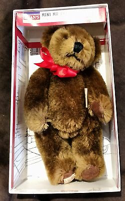 Deans Teddy Bear - Mini Mr Bears Mr Jones The Milkman - New With Tags & Box