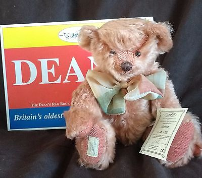 Dean's Mohair Teddy Bear - Mortimer - L/e 28 Of 500 - New In Box With Tags