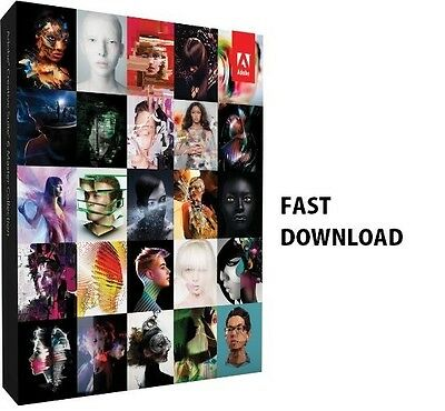 Adobe Master Collection CS6 for Window 32/64 Bit  - ( ONLY ONE PER CUSTOMER )