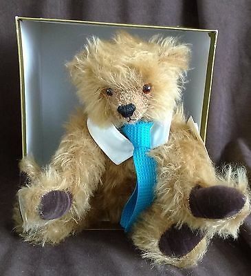 Dean's Mohair Teddy Bear - Dusty - L/e 5 Of 500 - New In Box With Tags
