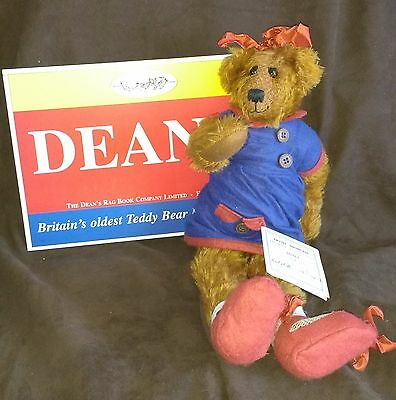 Dean's Artist Showcase Teddy Bear - Janet By Jo Greeno - L/e 1,500 - Brand New