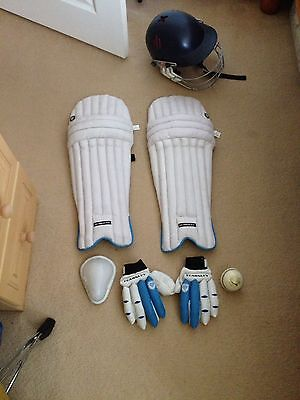 Cricket Bundle- Helmet/ Pads/ Ball/ Gloves