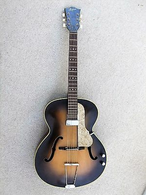 Hofner Guitar:458 JazzVintage 1960s:Archtop.Electro-acoustic:Excellent condition