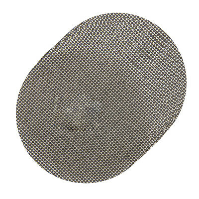 10pc MESH Sanding Discs Hook & Loop Paper Silverline 115-225mm 40-180 Grit