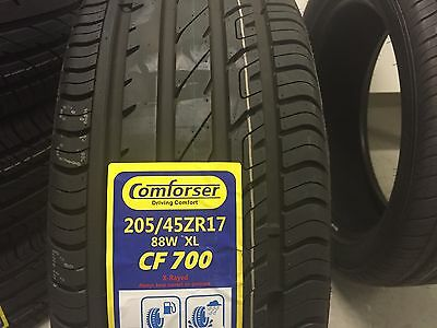 205/45R17 'comforser' 88W. Good Quality Brand New 205 40 17 Inch Tyre.