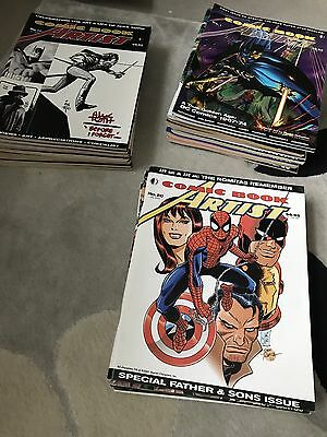 Comic Book Artist Magazines Twomorrows Complete Set of 25 Issues!