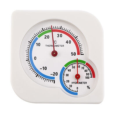 Humidity WS-A7 Wet Hygrometer Mechanical Thermometer Mini Meter Thermometer