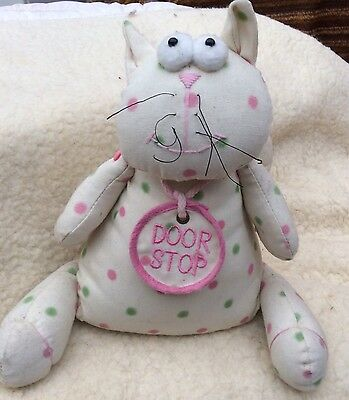 Cat Door Stop Ideal Christmas Gift Country Kitchen Farm House Cat Lover