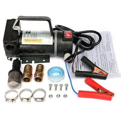 12V 200W Car Portable Electric Fuel Diesel Oil Extractor Transfer Pump 45L/Min