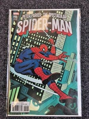 Peter Parker Spectacular Spider-Man #1 1:500 Ross Andru Remastered Variant Cover