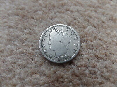 Old  Collection American Coin    1901s - 21mm