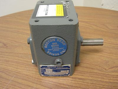 Boston gear speed reducer 713-10-G, Input H.P. 0.75, 10 to 1 ratio