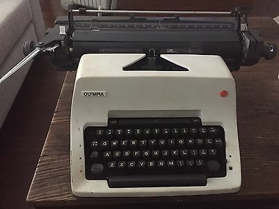 Olympia Vintage Typewriter with cover