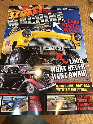 STREET MACHINE UK LAUNCH  ISSUE JULY 2017 I Will Post Next Day Second Class