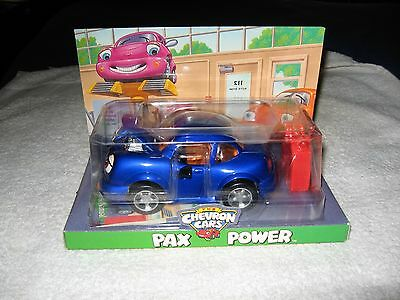 New In Box Collectible CHEVRON Cars Pax Power