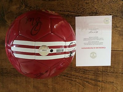 2017 Signed Manchester United Football