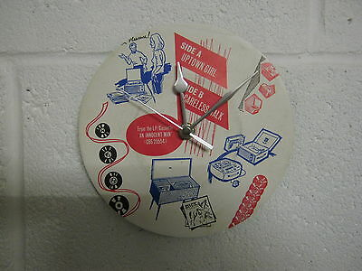 "Billy Joel ""Uptown Girl"" - 7"" Record Sleeve Wall Clock - Special Unique Gift"