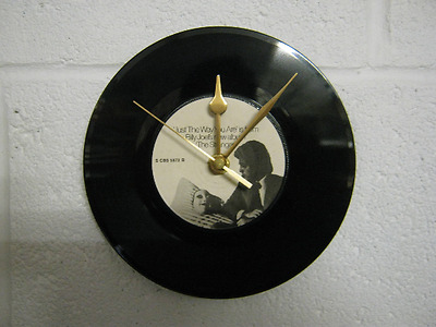 "Billy Joel ""Just The Way You Are"" - 7"" Vinyl Record Wall Clock - Unique Gift"
