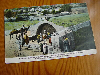 TOP1898 - Postcard - Nazareth, Virgin's Fountain