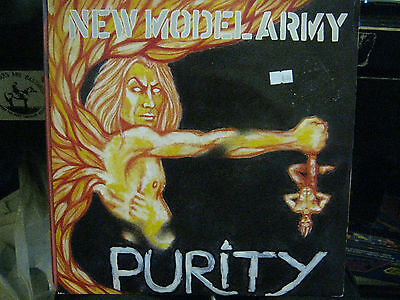 "New Model Army  Purity      12"" Vinyl Single / Ep"