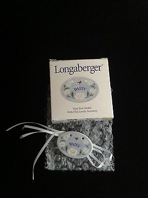 Longaberger 1999 May Series Daisy Basket Tie-On