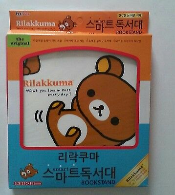 Rilakkuma Bookstand Bear Won't You Live In Ease Every Day Child's Book Stand