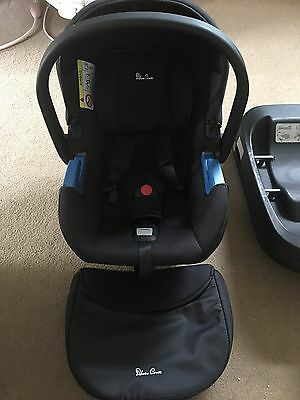 Silvercross Simplicity Car Seat, Isofix Base And Pram Adaptors