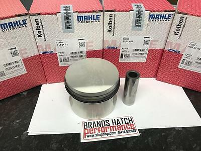 4 x FORD 2.0 OHC PINTO MAHLE PISTONS +1mm - High Compression