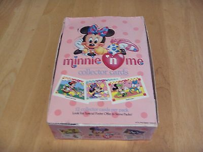 1991 Impel Walt Disney MINNIE 'N ME Collector Cards Open Box Of 36 Packs