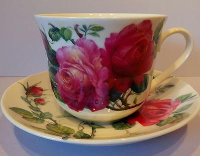 Roy Kirkham English Rose Large Breakfast Cup and Saucer
