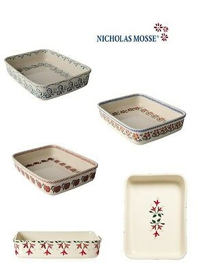Nicholas Mosse Pottery Large Rectangular Oven Dish - Various Designs