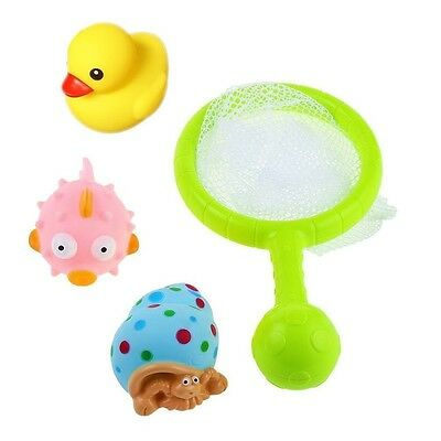 Bath Toy Fishing Game with Net Fishing Games Baby Bath Toy 8 Pieces Set for Kids