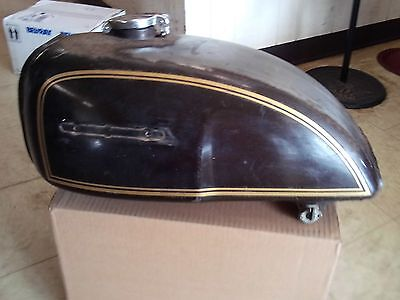 Honda CB500T Gas/ Fuel Tank 1975 Cafe Used Clean Inside
