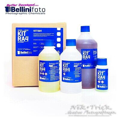 BelliniFoto's RA4 Kit ~ Best Chemistry, Best Price ~ 5 lt Kit