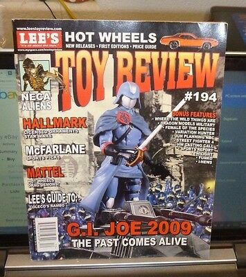 Lee's Toy Review Magazine Dec 2008 #194 - G.i. Joe / Hot Wheels / Hallmark +