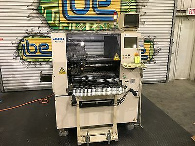 Juki KE-750E SMT Pick and Place Placement Machine With 71 Feeders