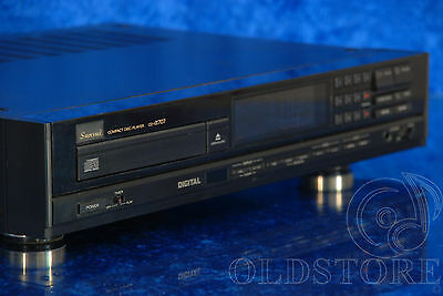 ►SANSUI CD α707◄LETTORE CD PLAYER VINTAGE HIGH END 1986 VINTAGE OLD SCHOOL A707