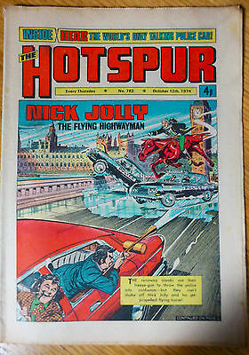 The Hotspur (UK Comic) - Issue #782 (12th October 1974)