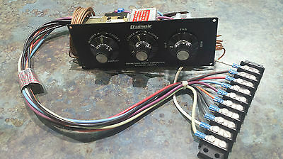 Cruisair 230V AC 3 Knob Heating and Cooling SCR Marine Switch Assy