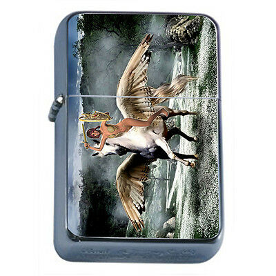 Amazon Warrior Princess D22 Windproof Dual Flame Torch Lighter Refillable