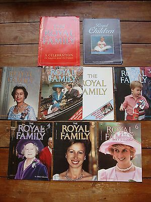 The Royal Family A Celebration In Words & Pictures Magazines 1-6 + Additional Ex