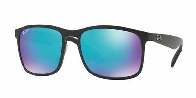 Ray Ban RB 4264 601SA1 Polarized Blue Mirror Chromance Sunglasses Italy New