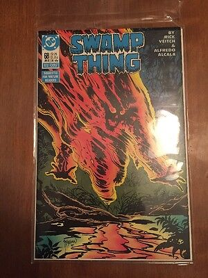Swamp Thing (1982 2nd Series) #68 Autographed
