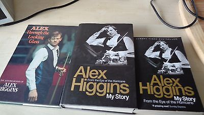 Alex Through The Looking Glass The Autiobiography Of Alex Higgins