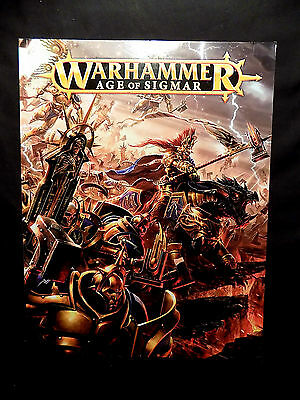 Warhammer - Age of Sigmar - 96 Page Book & Rules - Excellent